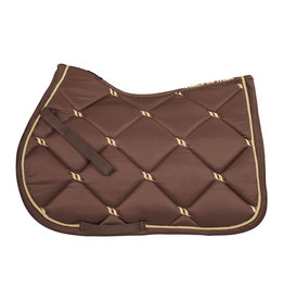 Back On Track Back On Track Nights Collection Jump Saddle Pad Coffee