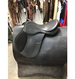"""15.5"""" Synthetic English Saddle"""