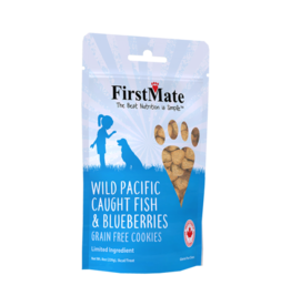 FirstMate FirstMate LID GF Fish & Blueberry Cookies [DOG] 8OZ