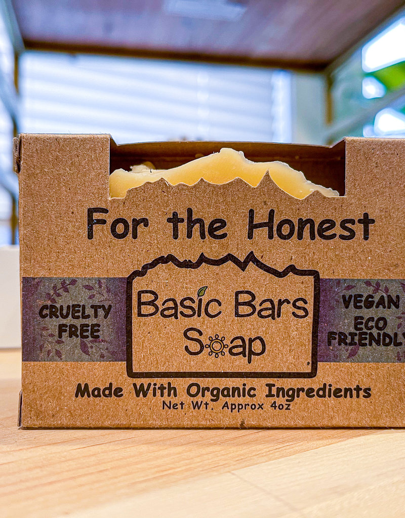 For The Honest Vegan Soap
