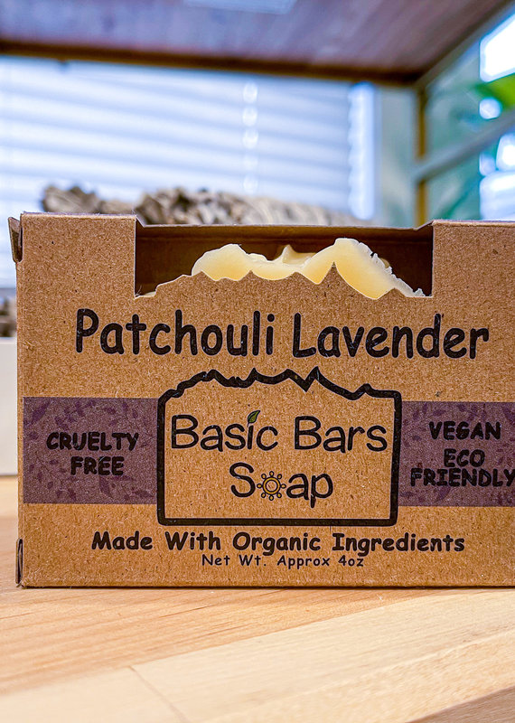 Patchouli Lavender Vegan Soap