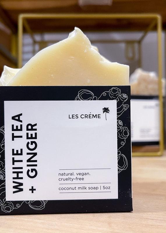 White Tea + Ginger Coconut Milk Soap