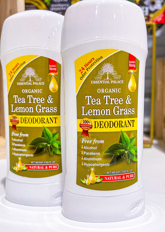 PAIKORO Tea Tree & Lemon Grass Natural Deodorant