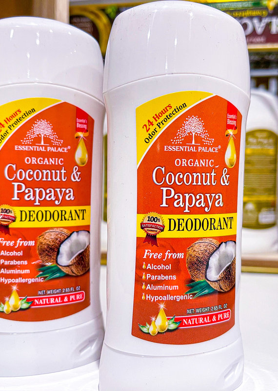Coconut & Papaya Natural Deodorant