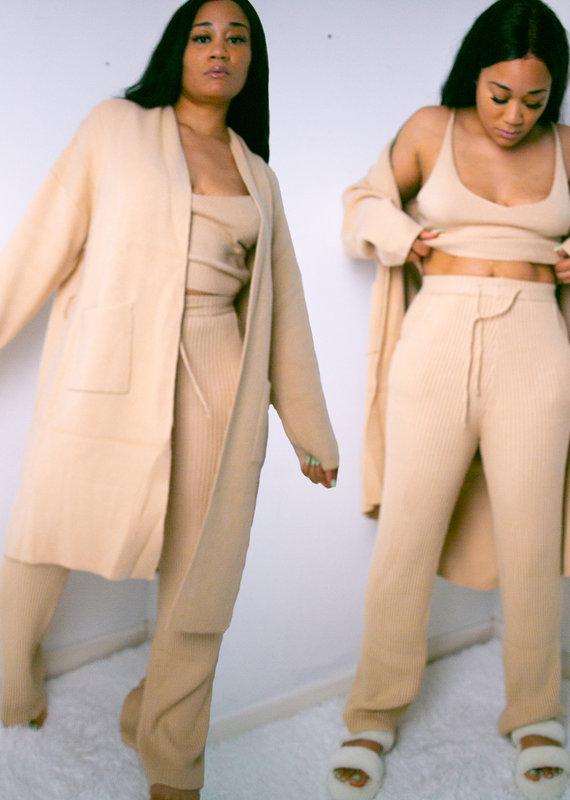 Escape Sweater Pant Set | 3 Piece