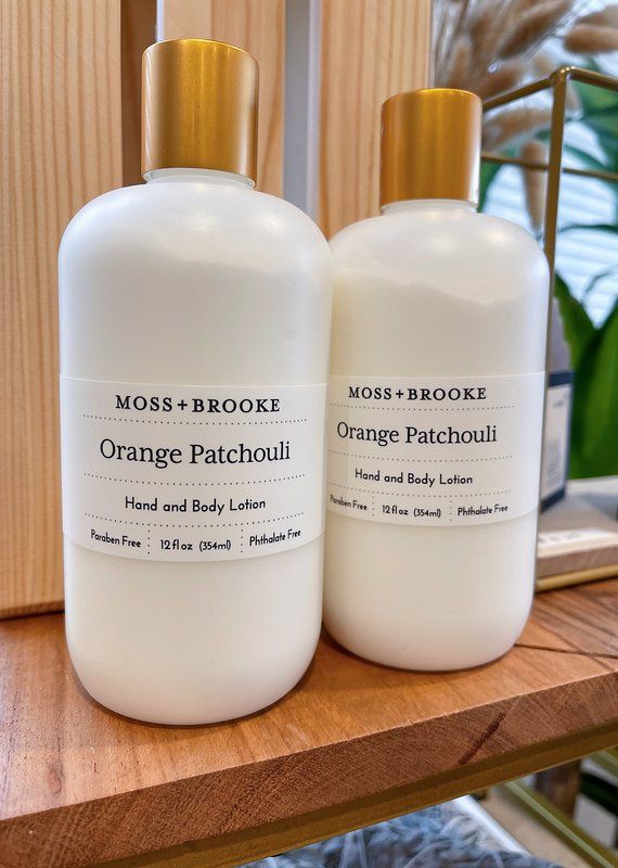 Orange Patchouli Hand and Body Lotion