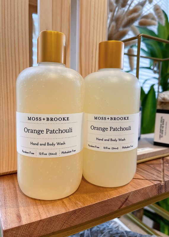 Orange Patchouli Hand and Body Wash