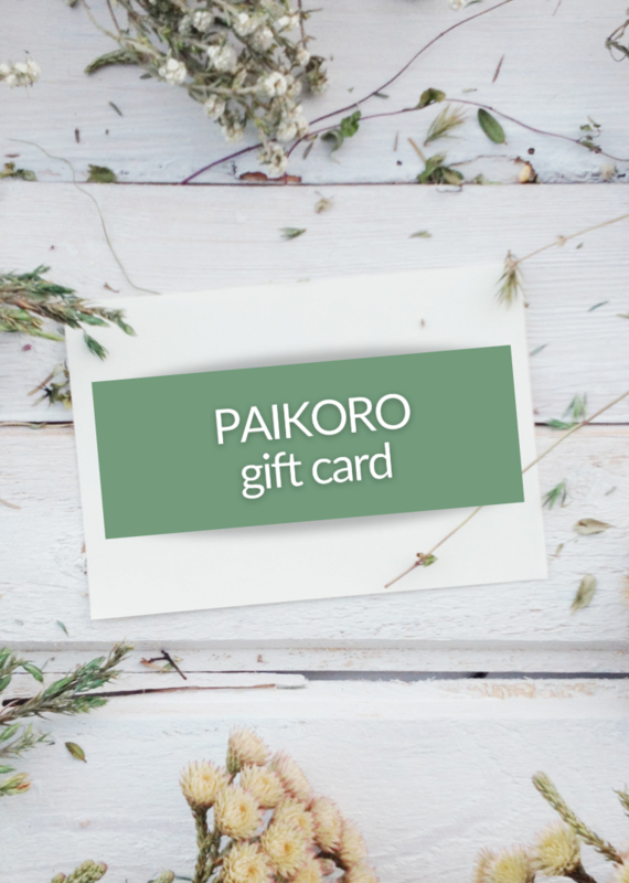 Paikoro Gift Card