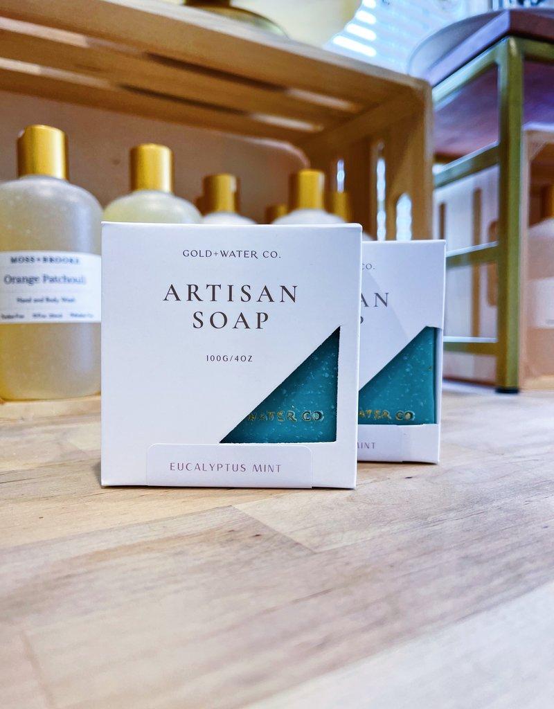 Eucalyptus Mint | Gold + Water Artisan Soap