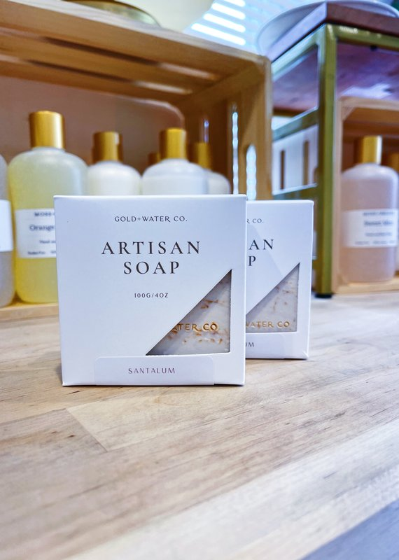 Santalum | Gold + Water Artisan Soap