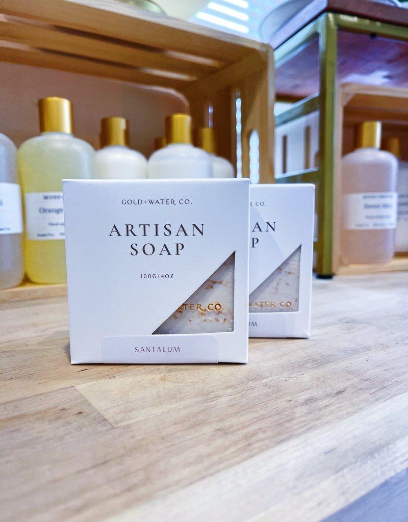 Santalum | Gold + Water Artisan Soap