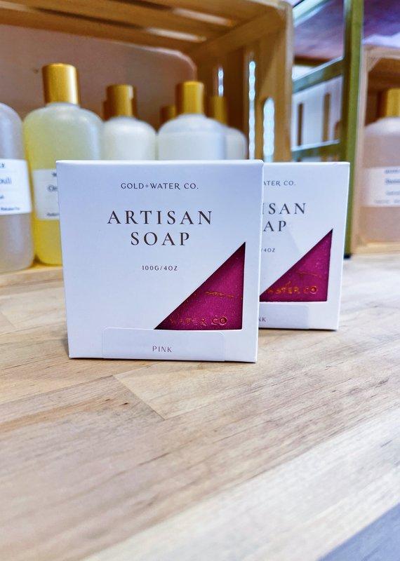 Pink | Gold + Water Artisan Soap