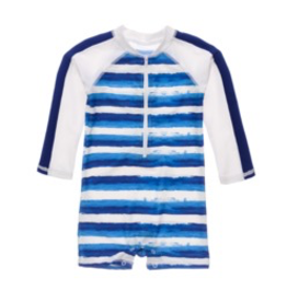Snapper Rock Snapper Rock Sunset Stripe Sunsuit
