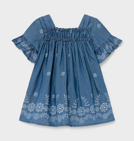 Mayoral Mayoral Baby Denim Dress