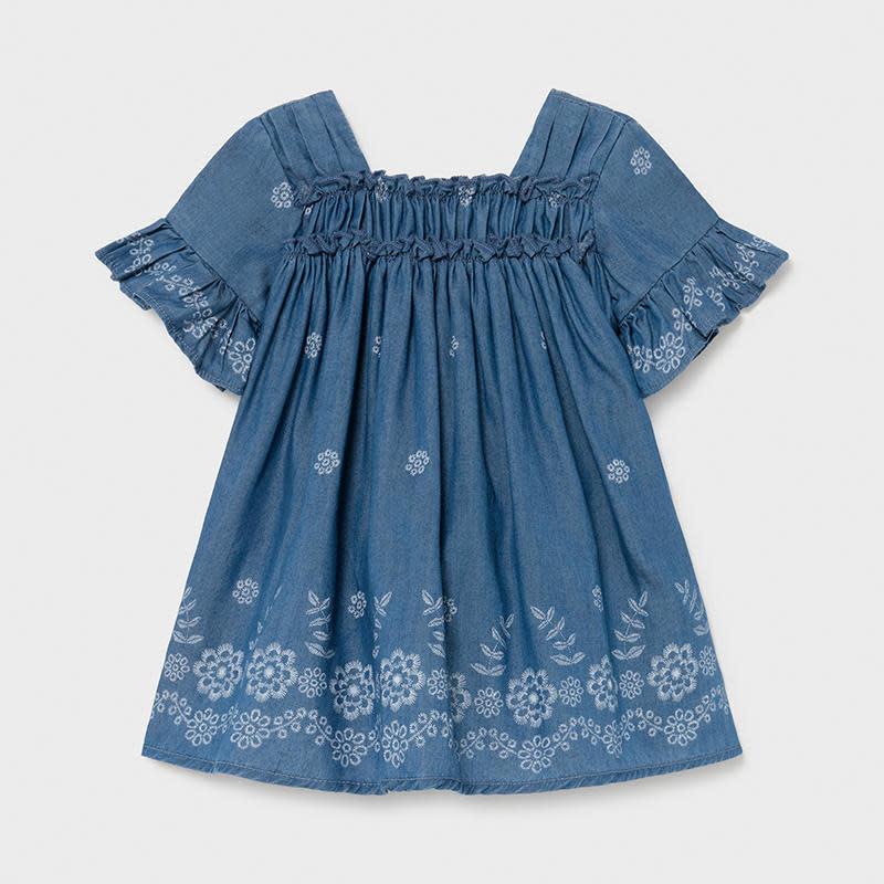 Mayoral Mayoral Baby Denim Dress