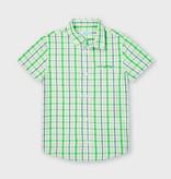 Mayoral Mayoral Short Sleeve Checked Shirt