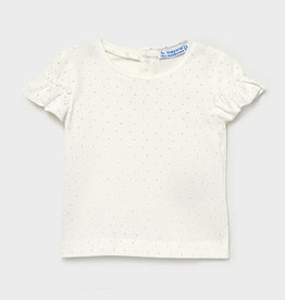 Mayoral Mayoral Short Sleeve Tee Champagne