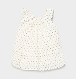 Mayoral Mayoral Perforated Dotted Dress