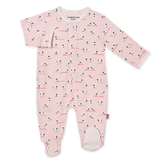 Magnificent Baby Magnetic Me Baa Baa Modal Footie Pink