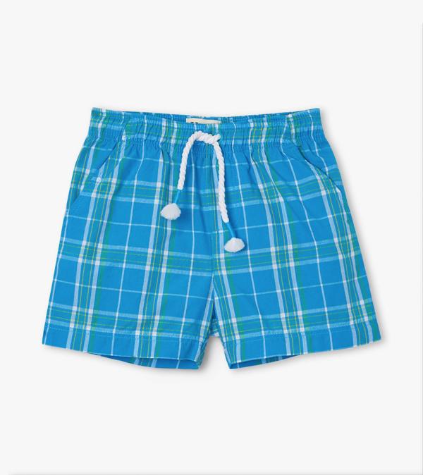 Hatley Hatley Summer Plaid Woven Shorts