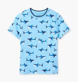 Hatley Hatley Shark Frenzy Graphic Tee