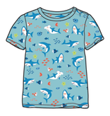 Hatley Hatley Shark Party Graphic Tee