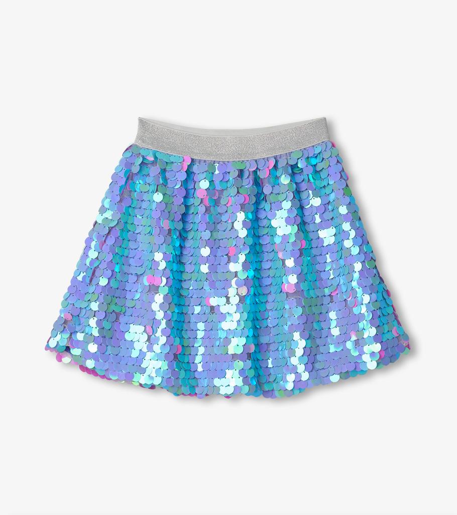 Hatley Hatley Opalescent Purple Sequin Skirt