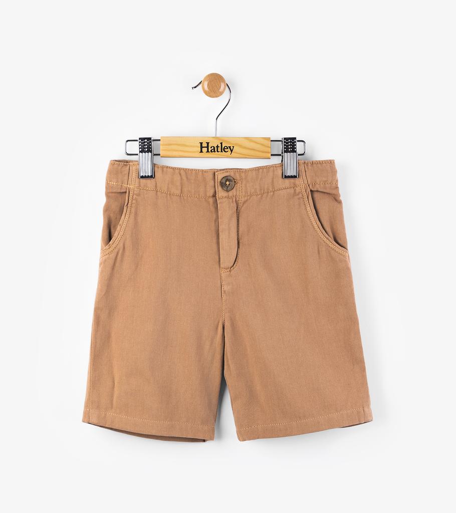 Hatley Hatley Khaki Twill Shorts