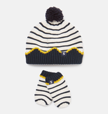 Joules Joules Crown Hat and Mitten Set