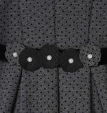 Mayoral Mayoral Polka Dot Dress - Charcoal