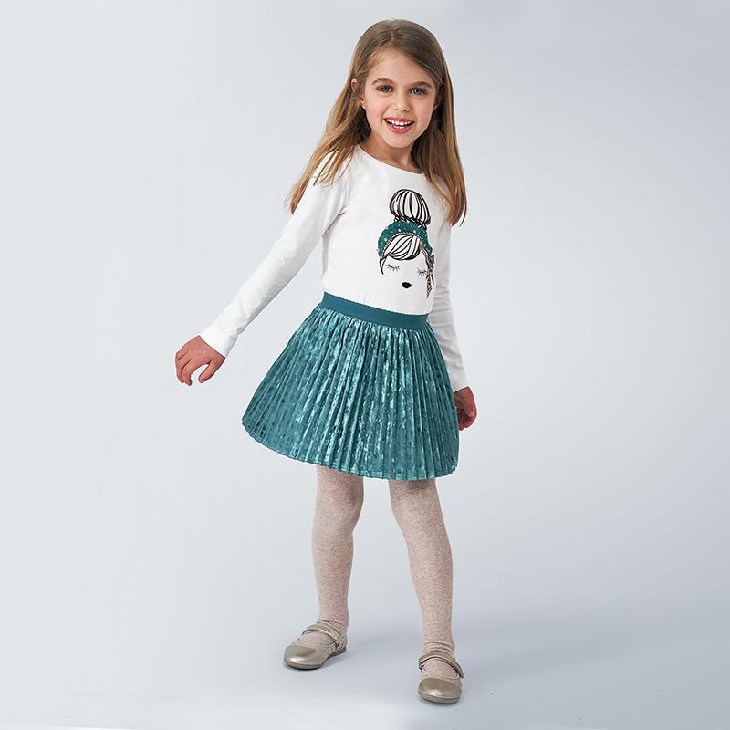 Mayoral Mayoral Pleated Skirt - BROO90954