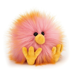 JellyCat JellyCat Crazy Chick Yellow and Pink