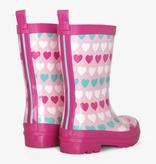 Hatley Hatley Multicolour Hearts Rain Boots