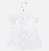 Mayoral Mayoral Voile Ruffled Blouse