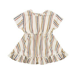 Quincy Mae Quincy Mae Organic Terry Dress Set with Bloomer