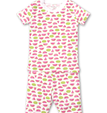 kissy kissy Kissy Kissy Whimsical Watermelons Short Pajama Set
