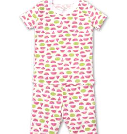 kissy kissy Kissy Kissy Whimsical Watermelons Short Pajama Set