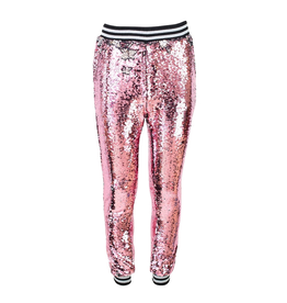 Lola & the Boys Lola & the Boys Pink Lemonade Sequin Joggers
