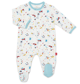 Magnificent Baby Magnificent Baby Carnivale Modal Footie