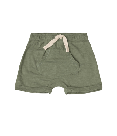 Rylee and Cru Rylee and Cru Front Pouch Short - Fern