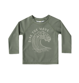 Rylee and Cru Rylee and Cru Ride the Wave Rashguard