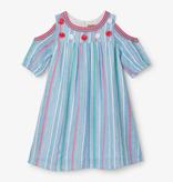 Hatley Hatley Striped Cold Shoulder Dress