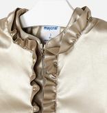 Mayoral Mayoral Ruffled Coat