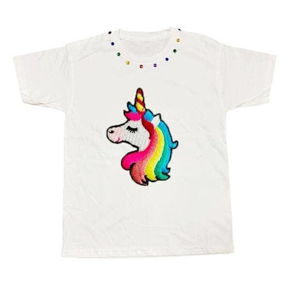 Lola & the Boys Lola & the Boys Unicorn Rainbow T Shirt