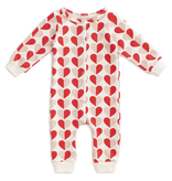 Winter Water Factory Winter Water Factory Hearts French Terry Jumpsuit