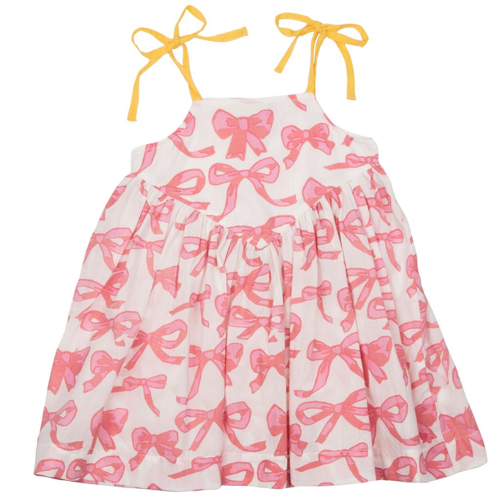 Pink Chicken Pink Chicken Monroe Bows Dress