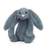 JellyCat Jelly Cat Bashful Dusky Blue Bunny Small