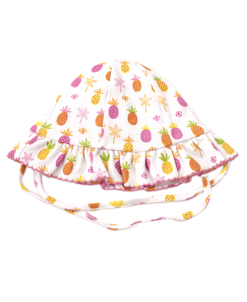 kissy kissy Kissy Kissy Prismatic Pineapples Floppy Hat