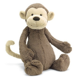 JellyCat JellyCat Bashful Monkey Small