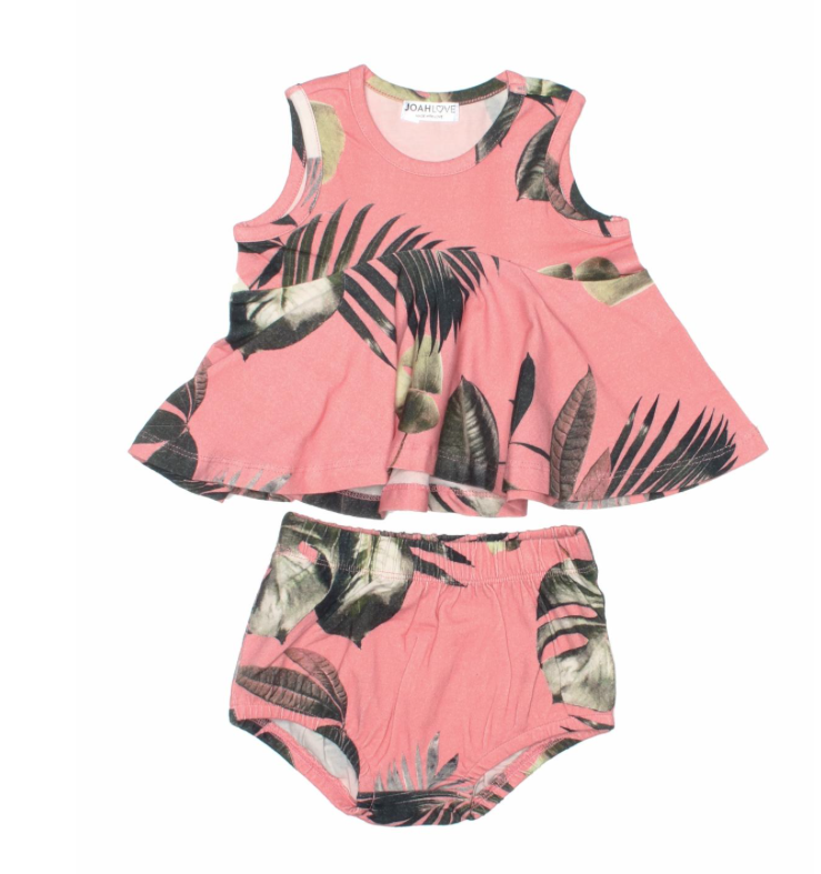 Joah Love Edna Palm Top with Bloomers Set